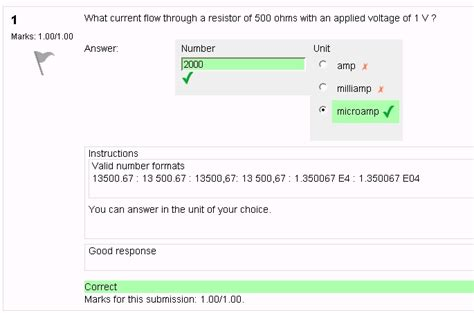 quiz questions with numerical answers numerical question type moodledocs