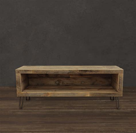 small tv console table small console reclaimed wood media entertainment stand
