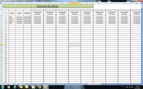 Calcular Calendario Gratis Planilha De F 233 Rias C 225 Lculo De F 233 Rias Modelo De Recibo
