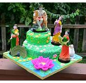 Some Beautiful Radha Krishna Cakes / Cake
