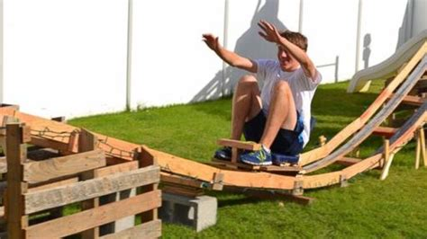 diy backyard roller coaster they built a backyard coaster for under 50 coaster101