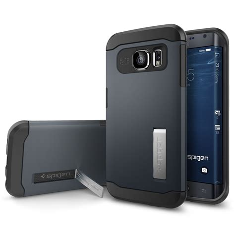 Samsung S6 Edge Phone Only spigen launches cases for samsung galaxy s6 edge shows only one edge screen phonesltd