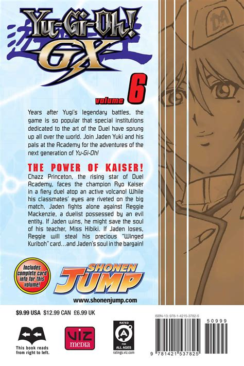 Yugioh Gx Vol 1 yu gi oh gx vol 6 book by naoyuki kageyama official publisher page simon schuster uk