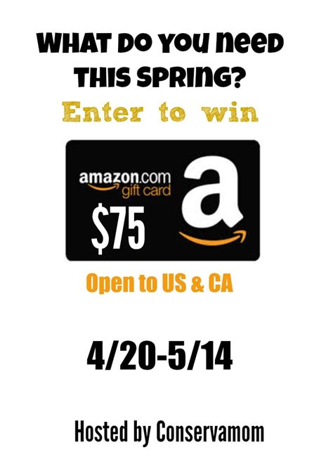 Amazon Gift Card Faq - win 75 amazon gc us can ends 5 14