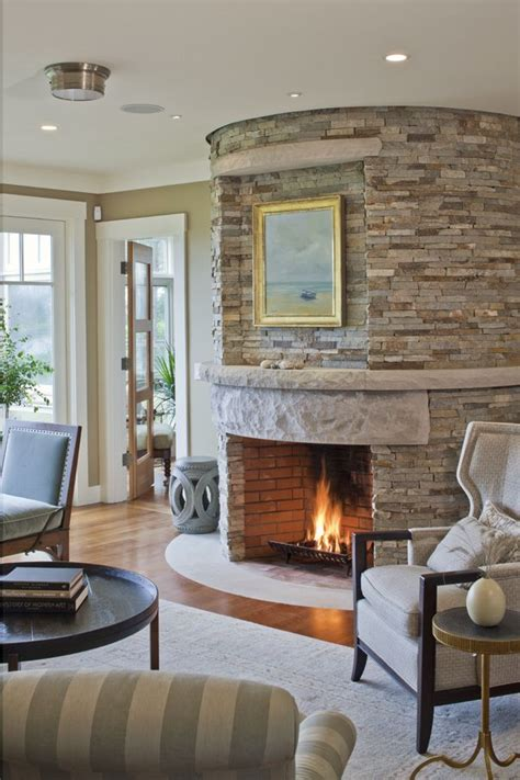 Circular Fireplace by Fireplace Living Spaces And Studies