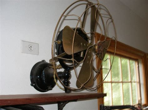 vintage wall mount fans antique electric fans