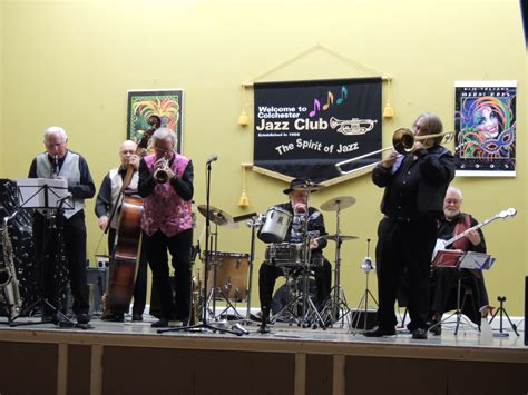 The Band Rockin Chair by Colchester Jazz Club Band Profile