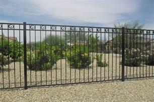 wrought iron fence rod iron