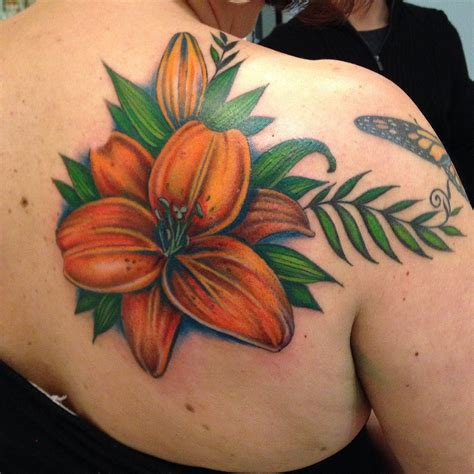 orange lily tattoo designs 24 designs ideas design trends premium
