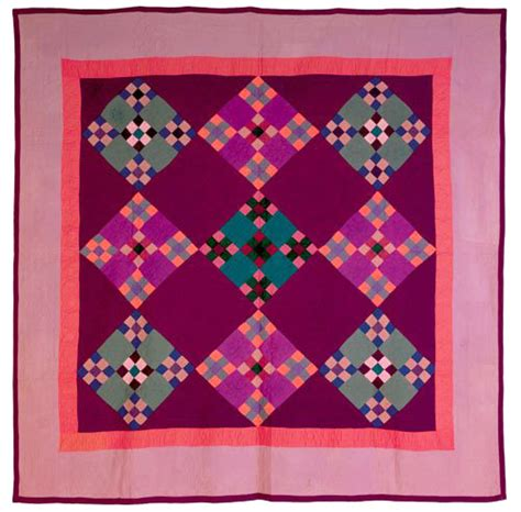 Amish Quilts History by Barbara Brackman S Material Culture Color Blocking