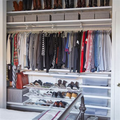 The Container Store Closets by Clear The Clutter From Your Closet Ideas Organization
