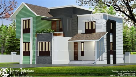 1800 square floor 4 bhk modern home design 1800 sq ft floor 4 bhk contemporary home design