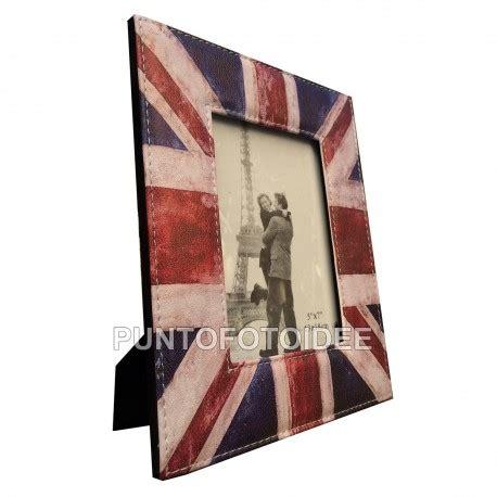 cornice da tavolo cornice da tavolo 13x18 cm in ecopelle bandiera uk