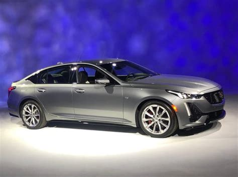2020 Cadillac Ct5 Price by 2020 Cadillac Ct5 Sedan Revealed At New York Auto Show
