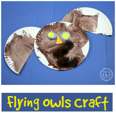 Paper Plate Craft For Preschoolers - paper plate owl craft for preschoolers