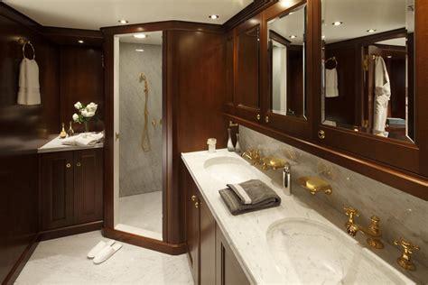electra superyacht master cabins bathroom yacht bathroom image gallery yacht axantha ii master cabin