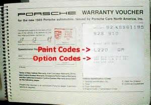 Porsche White Paint Code 928 Paint Codes