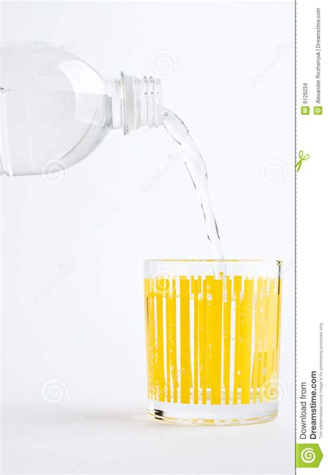 What To Fill Glass With Fill Glass Of Mineral Water Stock Images Image 9129234