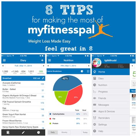 8 Tips For by 8 Tips For The Most Of Myfitnesspal Feel Great In