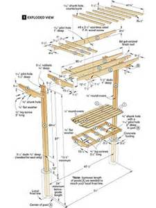 trellis plan garden bench trellis plans pdf woodworking