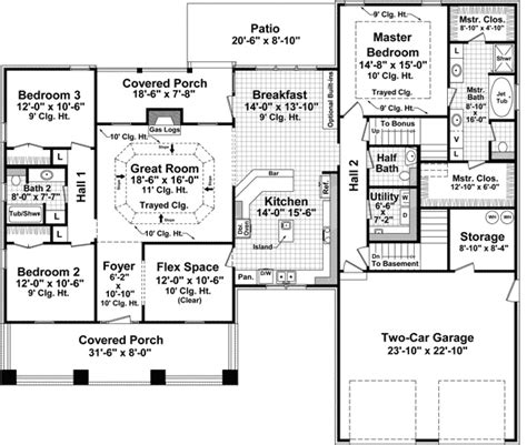 monster floor plans bungalow style house plans 2108 square foot home 1