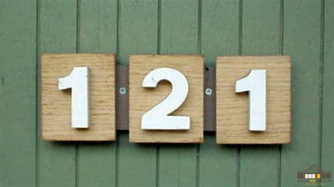 eichler house numbers eichler house numbers mid century modern house numbers