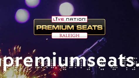live nation premium seats live nation premium seats raleigh vip ticket ad 13
