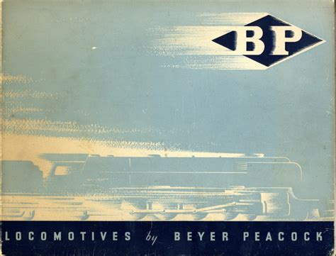 cover layout com locomotives by beyer peacock co ltd front cover