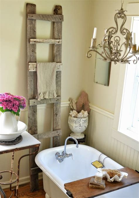 lovely  inspiring shabby chic bathroom decor ideas