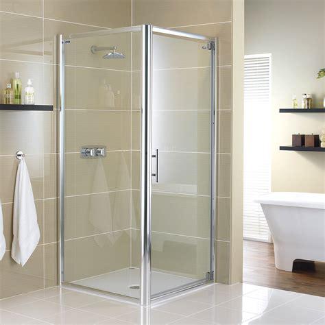 Showerlux Shower Doors Showerlux Glide 8mm Glass Pivot Shower Door 760mm