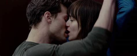 fifty shades of grey first full scene released fifty man glassed by three women during fifty shades of grey