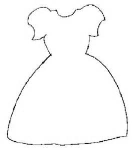 dress a doll template dress template craft ideas