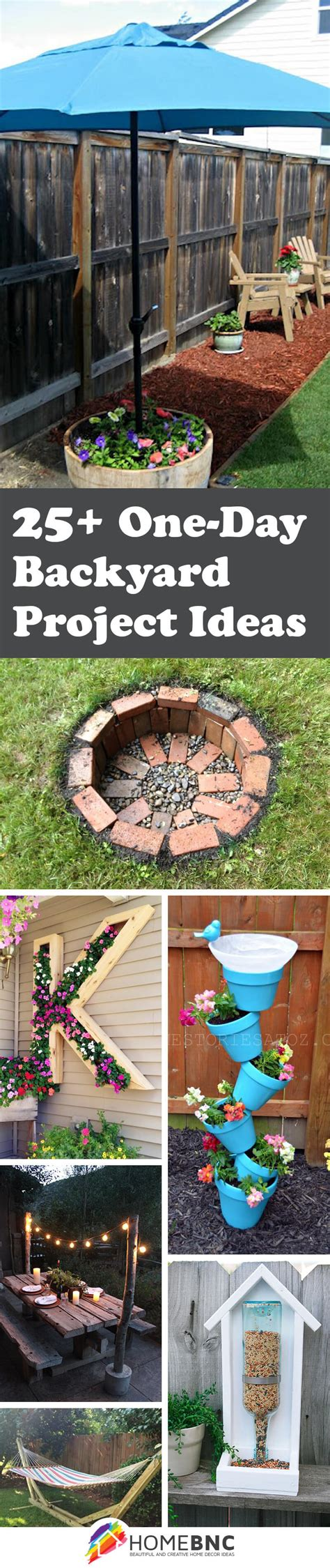 backyard experiments 25 best one day backyard project ideas and designs for 2017