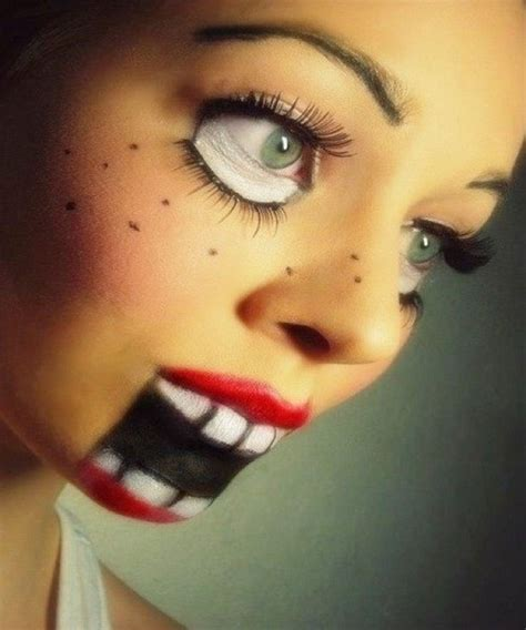 scary face halloween makeup ideas youll