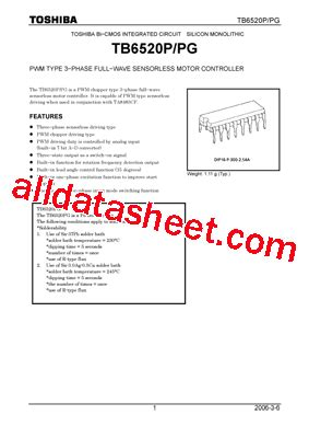 power factor correction techniques pdf tb6520pg datasheet pdf toshiba semiconductor
