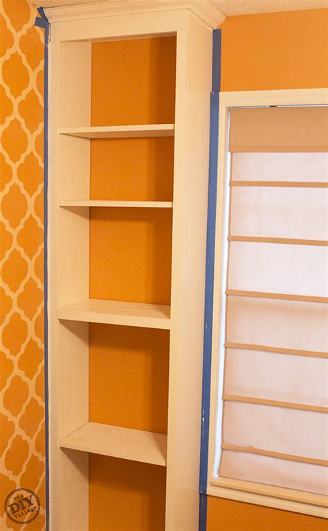 painting built in bookcases how to build custom bookcases the diy village