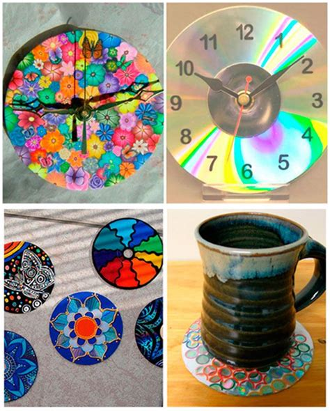 recycled cd crafts for ideas para reciclar cds 1 reciclar recycle