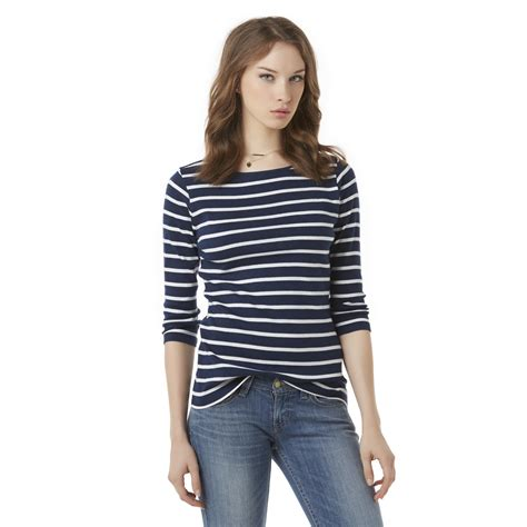 top boats online shop simply styled women s boat neck top striped shop your