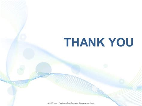 powerpoint templates thank you light blue abstact ppt design free daily