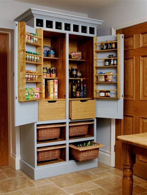 Kitchen Pantry Build A Freestanding Pantry Standing Kitchen Kitchen