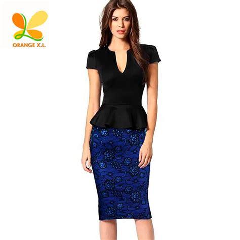 Ol Dress Selya Navy Fit L sleeve peplum dress promotion shop for promotional sleeve peplum dress on aliexpress