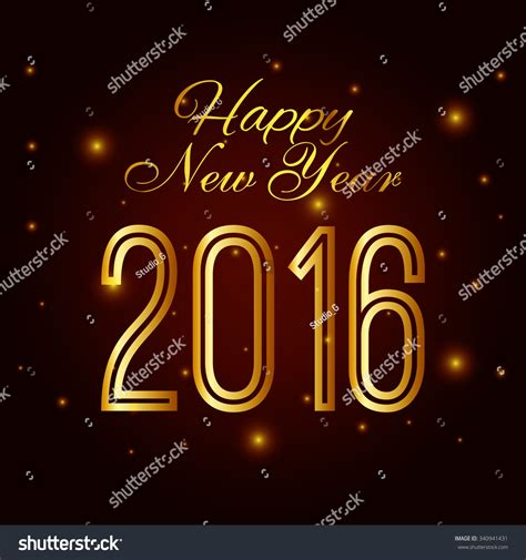 new year 2016 graphic design happy new year 2016 graphic design vector illustration