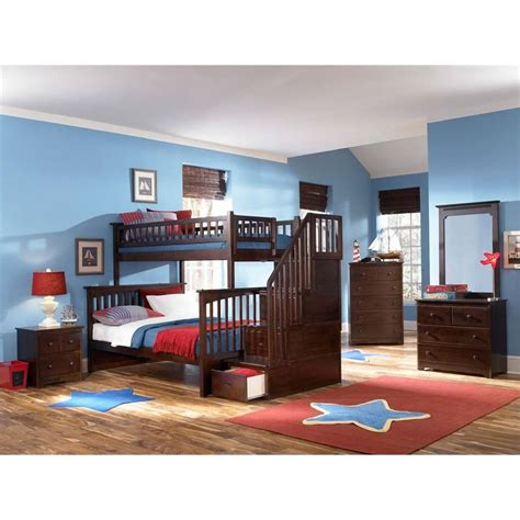 columbia bunk bed atlantic furniture columbia staircase bunk