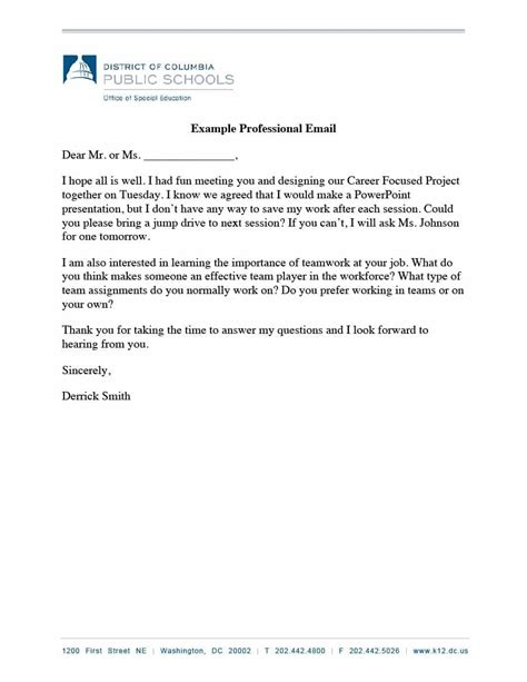 format of professional email 30 professional email exles format templates