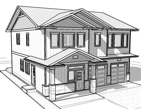 Drawing House by Simple Drawing Of A House Simple House Drawing Drawing