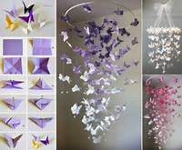 Butterfly Chandelier Mobile DIY Tutorials