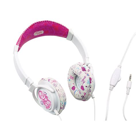 Headphone Kabel Disney Headphone Karakter violetta headphones toys thehut
