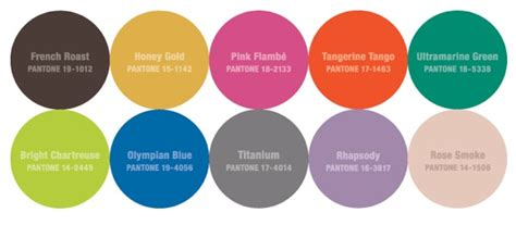 a color specialist in charlotte pantone fall 2012 color