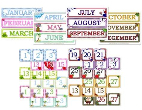 printable calendar days gingham calendar day month printables confessions of a