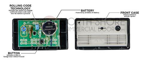 Additional Garage Door Remote - liftmaster 971lm 1 button remote